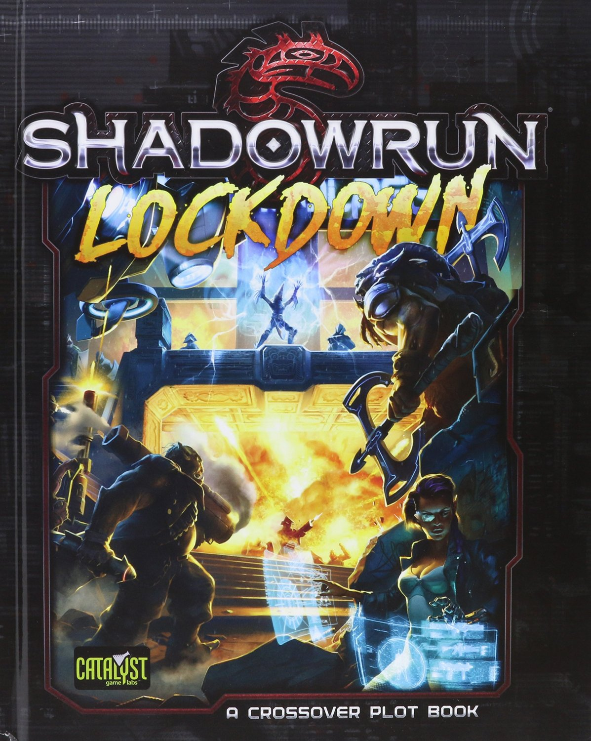 Shadowrun (5e) Lockdown - Role Playing Game (RPG) Plot Sourcebook [eBook]
