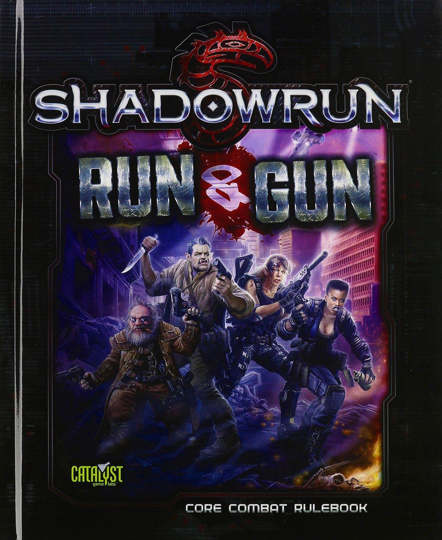 Shadowrun (5e) Run and Gun - Roleplaying Game (RPG) Combat Rulebook [eBook]