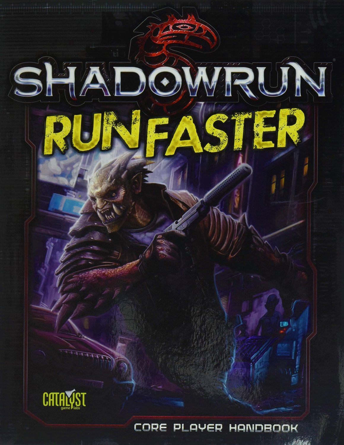 Shadowrun (5e) Run Faster - Role Playing Game (RPG) Core Player Handbook [eBook]