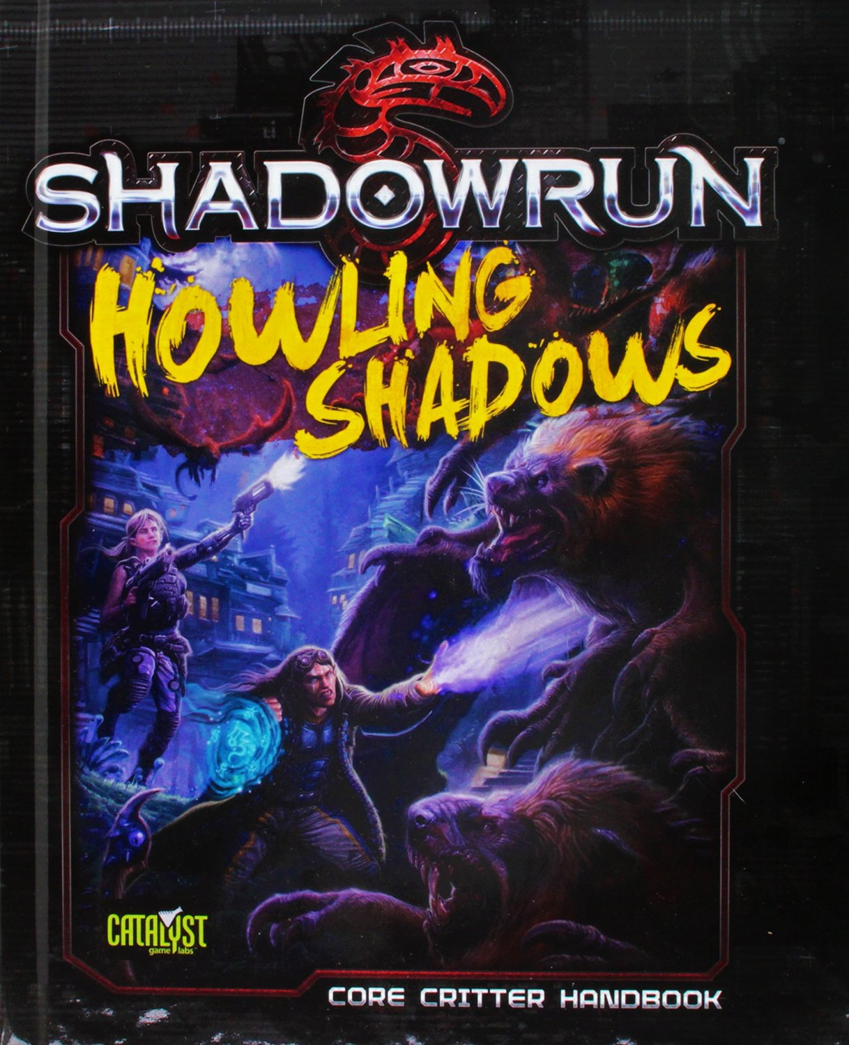 Shadowrun (5e) Howling Shadows - Role Playing Game (RPG) Core Critter Handbook [eBook]