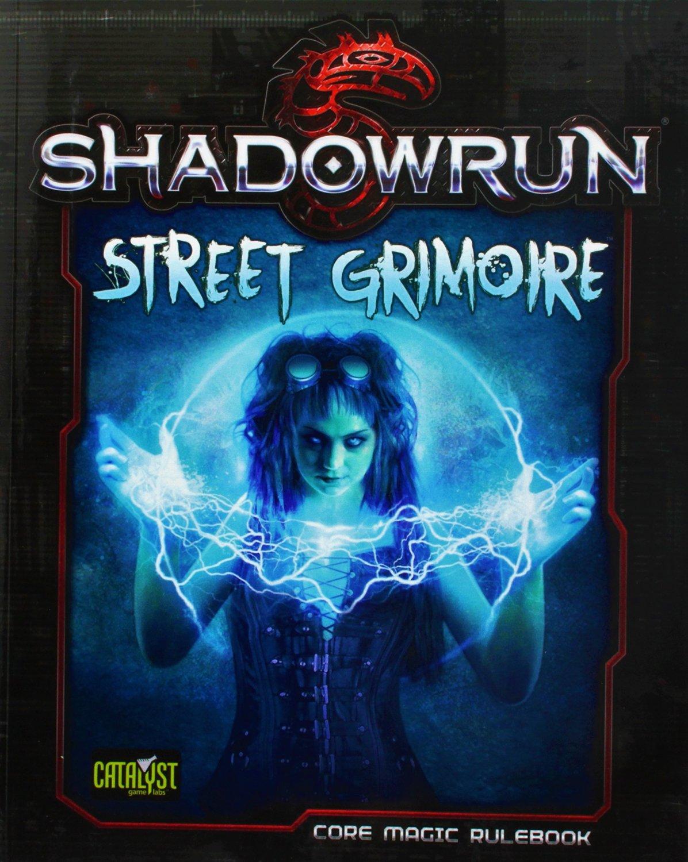Shadowrun (5e) Street Grimoire SC - Core Magic Rulebook - (RPG) Role Playing Game [eBook]
