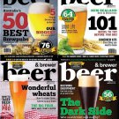 Beer & Brewer Magazine - 2016 Full Year (Complete 4 Issue) Collection [Digital]