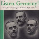 Listen, Germany! Twenty-five Radio Messages to the German People over BBC by Thomas Mann [eBook]