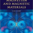 Magnetism and Magnetic Materials by J. M. D. Coey [eBook]