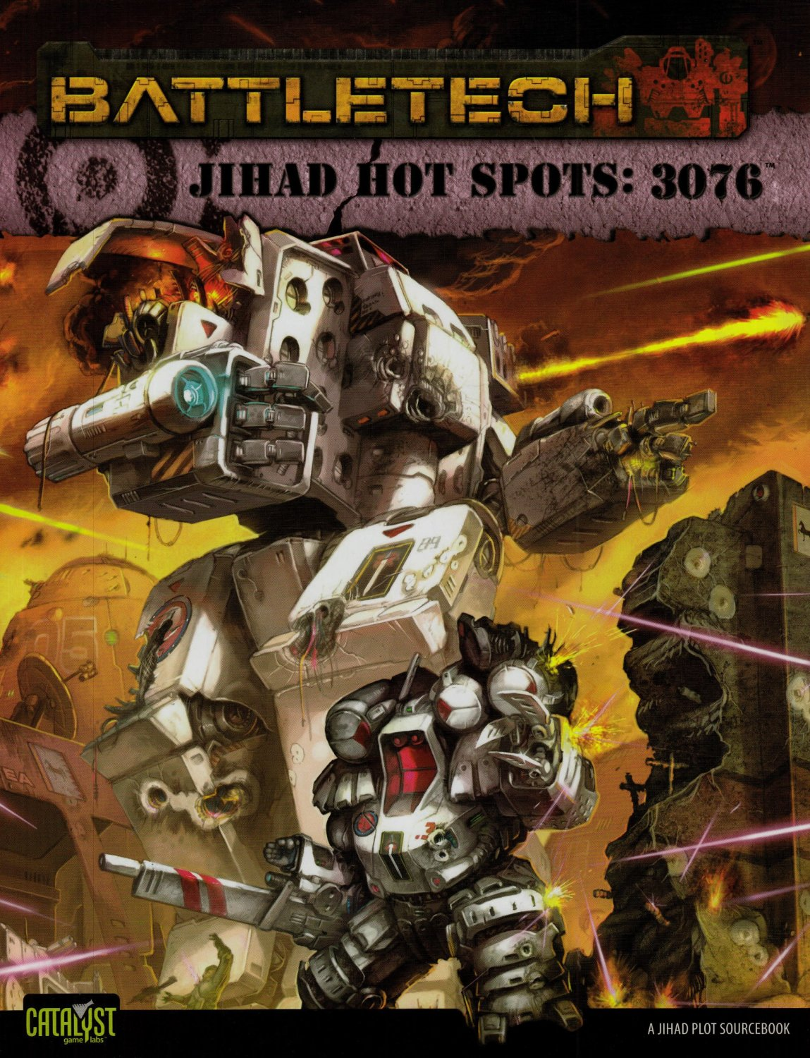 Battletech Jihad Hot Spots 3076 by Catalyst Game Labs [eBook]
