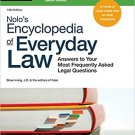 Nolo's Encyclopedia of Everyday Law [eBook Download] Answers to Frequent Legal Questions