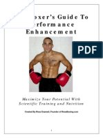 The Boxer's Guide to Performance Enhancement Training Strategies for the Competitive Fighter