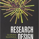 Research Design: Qualitative, Quantitative and Mixed Methods Approaches (4e) Creswell [eBook]