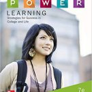 P.O.W.E.R. Learning: Strategies for Success in College and Life (7e) Robert S Feldman [eBook]