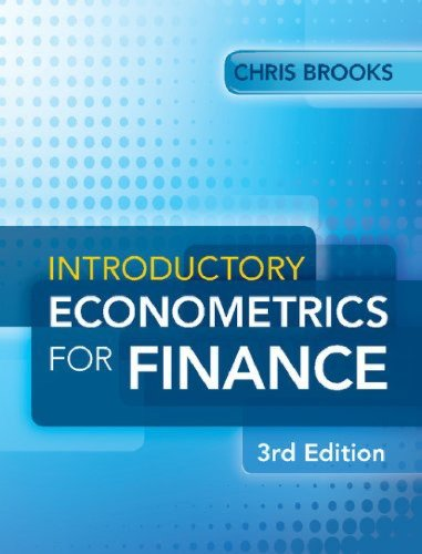 Introductory Econometrics for Finance (3rd Edition) by Chris Brooks [eBook]