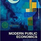 Modern Public Economics (2e) (Routledge Advanced Texts in Economics & Finance) [eBook]