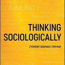Thinking Sociologically (Wiley 3rd Edition) by Zygmunt Bauman [Digital eBook] Sociology Intro