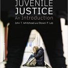 Juvenile Justice: An Introduction (8th Edition) Whitehead [PDF eBook]