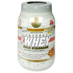 ON Gold Standard 100% Instantized Natural Whey 2.07lb - Available in 3 Flavors