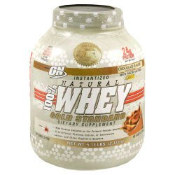 ON Gold Standard 100% Instantized Natural Whey 5lb - Available in 3 Flavors