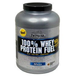 TwinLab 100% Whey Protein Fuel Mass 5lb - Availble in 3 Flavors