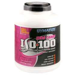 Dymatize Nutrition 100% Hydrolyzed Whey Protein Isolate 5lbs - Available in 5 Flavors