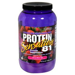 Ultimate Nutrition Protein Sensation 81 2lbs - Available in 3 Flavors