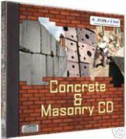 CONCRETE AND MASONRY CD