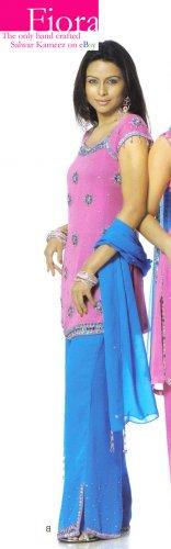 Salwar Kameez Bollywood India FIORA Salwar Kameez