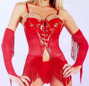 SEXY LINGERIE LINGERE EXOTIC CHEMISE RED HOT BABYDOLL INTIMATE APPAREL M, L