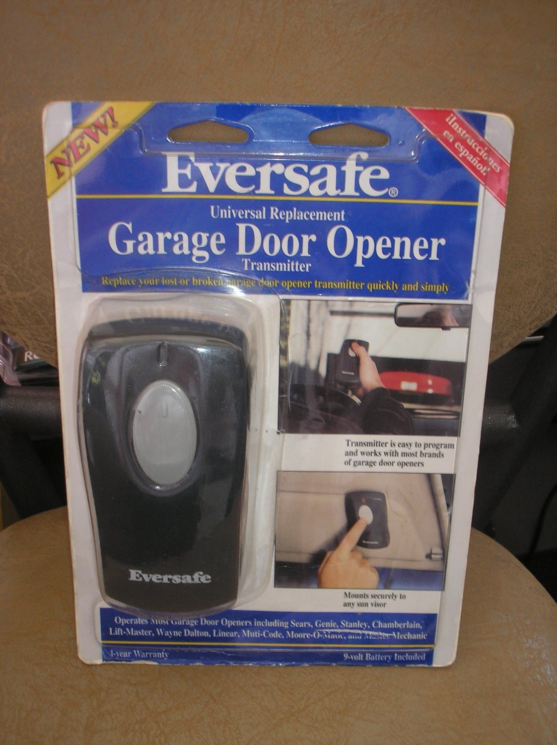 Eversafe Universal Replacement Garage Door Opener Single