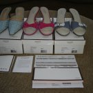 COACH SHOES - LOT OF 3 PAIRS - AUTHENTIC with ORIGINAL COACH BOXES/PAPERWORK - SIZE 10 - GREAT DEAL!