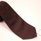 VALENTINO Black WHITE Dots Dress SUIT TIE 100% Silk ITALY Free Shipping