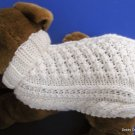 Aran Dog Sweater knitting pattern Garden Path PDF
