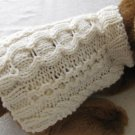 Stepping Stones Aran Dog sweater PDF knitting pattern for tea cup small dogs