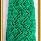 Crooked Path Lace Scarf Knitting Pattern PDF Easy to knit