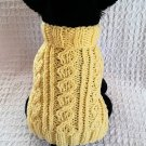 Celtic Triad Dog sweater knitting pattern
