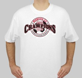 Champs Shirt White - Small