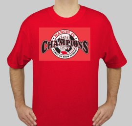 Champs Shirt Red - Small