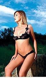 #80145- Balconnet Underwire Bra with Low Rise Bikini Bottom