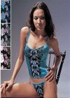 "LM146: ""La Mariposa"" Classic Embroidered Bustier Sets. 6 sets"