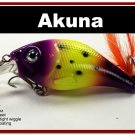 "[BP 131-33]2.9"""" Viking Bass Pike Trout Fishing Lure Crankbait Tackle"