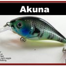 "[BP 131-97]2.9"""" Bluegill Bass Pike Trout Fishing Lure Bait Tackle"