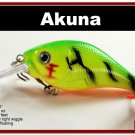 """[BP 131-98]2.9"""""""" Firetiger Bass Pike Trout Fishing Lure Bait Tackle"""