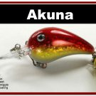 """[BP 132-84]2.3"""""""" Holographic Bleeding Gold Bass Pike Trout Fishing Lure Bait"""