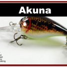 "[BP 133-88]2.3"""" Holographic Dirty Bass Pike Trout Fishing Lure Bait"