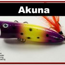 "[BP 147-33]2.2"""" Viking Bass Trout Topwater Fishing Lure Popper"