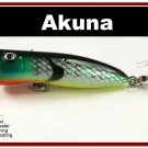 "[BP 147-97]2.2"""" Bluegill Bass Trout Topwater Fishing Lure Popper"