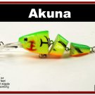"""[BP 20-98]3.5"""""""" Firetiger Bass Trout Pike Fishing Lure Swimbait"""