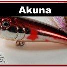 """[BP 48-79]2.4"""""""" Metallic Burgundy Shad Bass Topwater Fishing Lure Popper"""