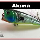 "[BP 48-97]2.4"""" Bluegill Bass Trout Topwater Fishing Lure Popper"