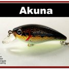 "[BP 54-88]2.9"""" Holographic Dirty Bass Fishing Lure Crankbait Tackle"