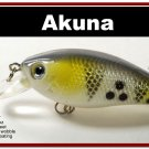 "[BP 54-96]2.9"""" White Bass Fishing Lure Crankbait Tackle"