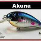 "[BP 56-89]3.1"""" New Metallic Shad Bass Pike Trout FAT Fishing Lure"