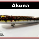 """[BP 75-88]3.4"""""""" Holographic BRN Bass Topwater Fishing Lure Popper"""